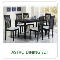 ASTRO DINING SET